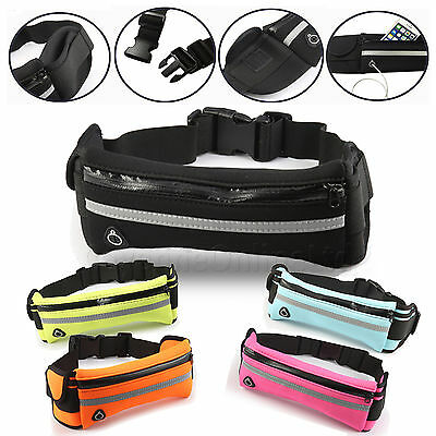 For Any Xiamoi Phones Sports Running Waist Band Pack / 2 Pockets+ Bottle Holder