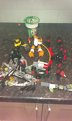 Lego Bionicle Parts In Excellent  Condition ,