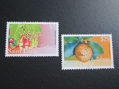 St. Lucia Collection of 2 Stamps, Sc # 1226 & 1227, MH, 2010 Scv $ 22.75,  TA112