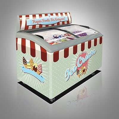 Display Freezer Ice Cream/Lollies  :  300 Litres 2 Years Parts Labour Warranty !