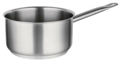 ZSP Commercial Heavy Duty Catering Stainless Steel Saucepans 16,18,20,24cm