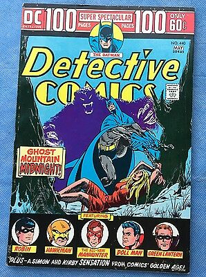 DETECTIVE COMICS #440 100Pg SUPER SPECTACULAR FINE- DC 1974  Free U.S. Shipping!