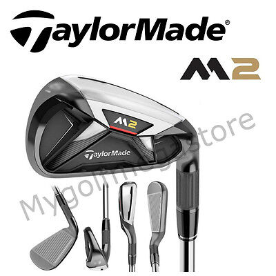 Taylor Made Golf M2 Iron Set-5-PW- Right Handed-Reg Steel Shafts-New - CFIR25