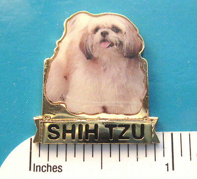 SHIH TZU  , SHIHTZU  dog -   hat pin , lapel pin , tie tac , hatpin GIFT BOXED