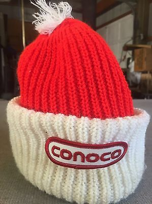 Red And White Conoco Stocking Hat