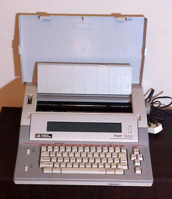 Smith Corona Pwp-1000 Electric Typewriter - Vgc - Tested And Working