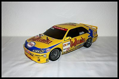 Tamiya TL-O1 Chassis mit Karoserie Peugeot 406 ST 1/10 RC rare