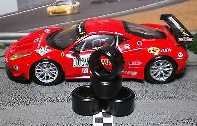 1/32 PAULGAGE SLOT CAR TIRES 2pr PGT-20126LM fit CARRERA Ferrari 458 GT2