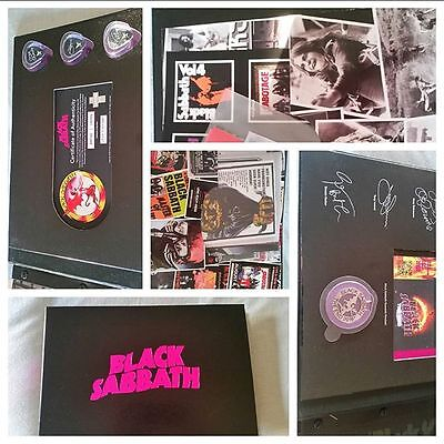 Black Sabbath Ltd.Ed. VIP THE END Book