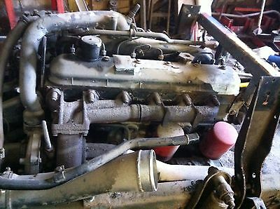 Ford Cargo 6 Cylinder Turbo Engine Generator Tractor Pulling