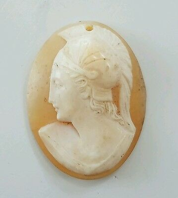 21 Carats Genuine Cameo   Antique And Vinyage Stone.