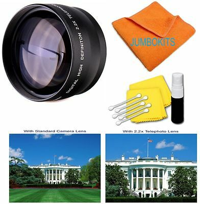 2.2 X Telephoto Lens  CANON REBEL 300D 350D T3I T5I T4I 60D  HD SHIPS FAST