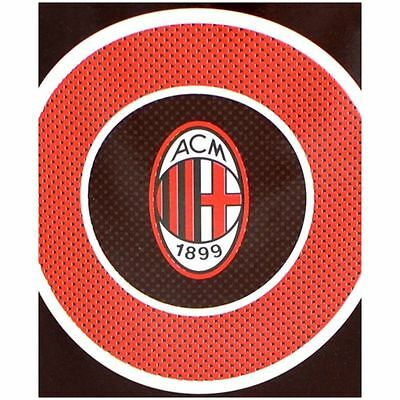 AC Milan FC Fleece Blanket / Throw (Bullseye)