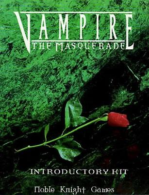 White Wolf Vampire The Masquerade Introductory Kit w/Safe as Houses SC NM