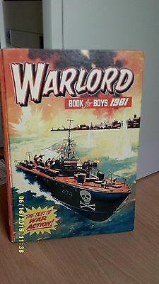 Warlord Book for Boys. 1981.