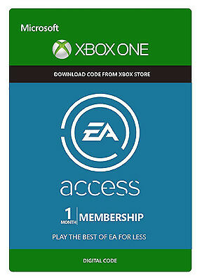 1 Month EA Access Membership Subscription Key Code for Xbox One