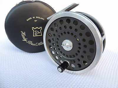 Made In England Hardy Marquis Salmon No1 Fly Fishing Reel + Case.
