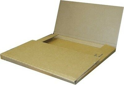 50 Economy Variable Depth Kraft LP Record Album Mailer Boxes - NEW ITEM!