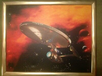 Star Trek ,The Original Series, limited edition canvas