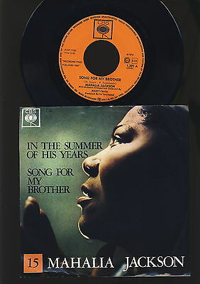 Mahalia Jackson - In the Summer of His Years - Song for my Brother - HOLLAND