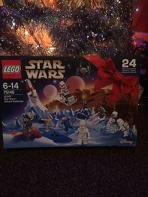 Lego Star Wars 2016 Advent Calender 75146 Doors Still In Tact No Pieces Inside