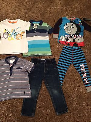 Bundle Of Boys Clothes Incl Ted Baker Jeans And T-Shirt, Age 2-3
