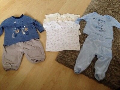 Baby Boys Outfit/ T-shirt Bundle 3-6 Months