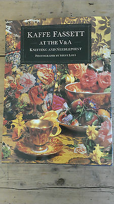 Kaffe Fassett at the V & A Knitting & Needlepoint Book 17 Designs with Charts