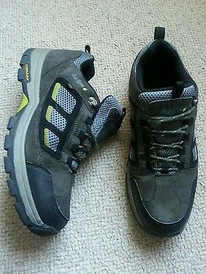 Peter Storm grip walking shoes trainers size uk 10 grey