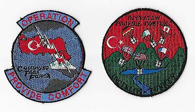 USAF Patch x 2 Provide Comfort / Combined Task Force