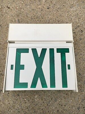 Dual Lite EXIT sign GREEN
