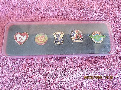 Ty Beanie Babies Official Club BBOC Pin Set - Legs