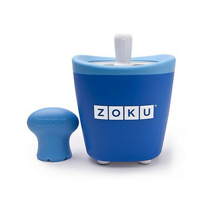 Zoku Quick Pop Blue - Single Ice Lolly maker - Easy quick to make fun ice pops