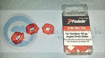 New Paslode part #21923 No mar Tips for cordless 16 ga. 3-Pack