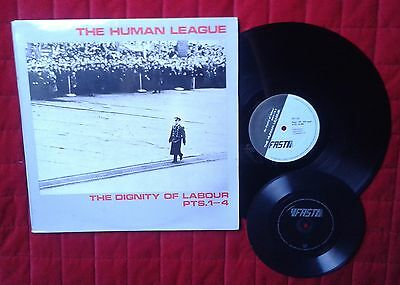 "The Human League Dignity of Labour Pts 1-4 12"" + Flexi"