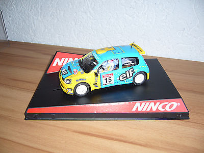 Ninco Renault Clio Rally Slot car WRC (f. Carrera , Scalextric )