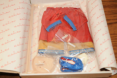 2 Vintage Shirley Temple Danbury Mint Dress Up Doll Clothes Stowaway Little Prin