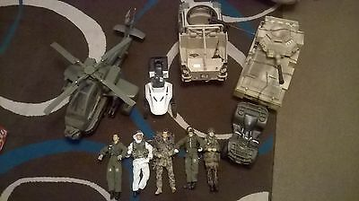 Toy Soldiers and combat equipment