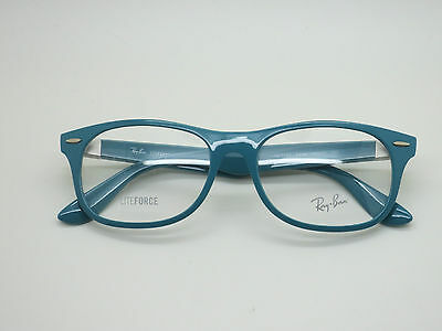 NEW Authentic Ray Ban RB 7032 5436 LITEFORCE Blue 55mm RX Eyeglasses