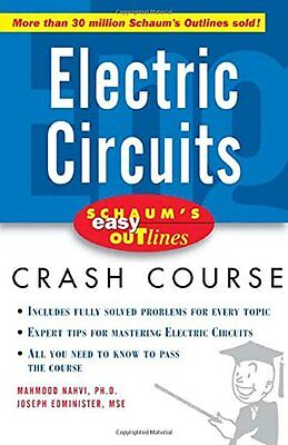Schaums Easy Outline of Electric Circuits (Schaums Easy Outlines),PB,Mahmood Na