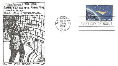 1193 4c Project Mercury, First Day Cover Cachet [B161410]