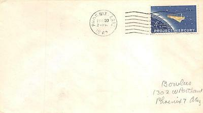 1193 4c Project Mercury, First Day Cover Cachet [B161396]