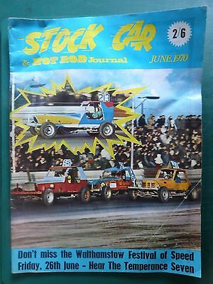 1970 June Stock Car & Hot Rod Journal