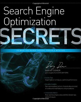 Search Engine Optimization (SEO) Secrets,PB,Danny Dover - NEW