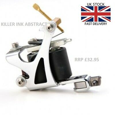 Quality Uk Killer Ink Abstract Tattoo Machine Liner Or Shader Rrp £32