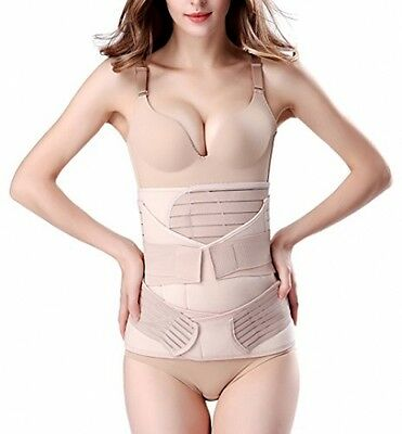 3 in 1 Breathable Elastic Postpartum Support - Recover Belly/Waist/Hip Belt