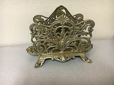 Solid Brass Double Side Napkin Holder