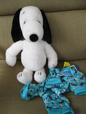 "United Features 1968 Snoopy Belle Dog 16"" Plush Wearing New BABW Snoopy Sleeper"