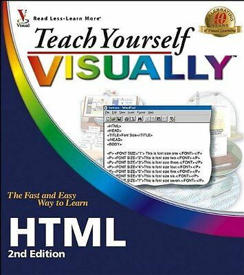 Teach Yourself Visually HTML (Teach Yourself VISUALLY (Tech)),PB,Sherry Willard