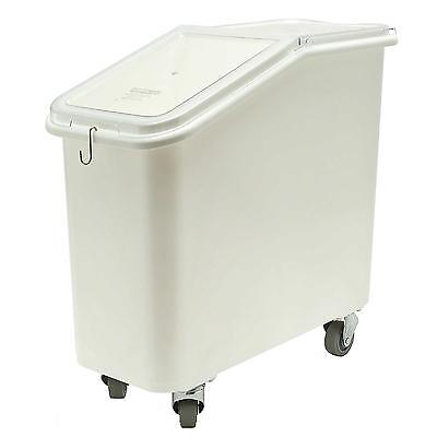 Cambro IBS20148 21 Gallon Sliding Cover Ingredient Bin w/ Heavy Duty Casters